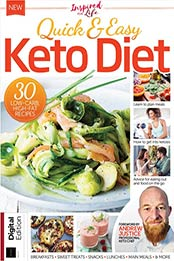 Inspired For Life - Quick & Easy Keto Diet, Issue 25 [2021, Format: PDF]